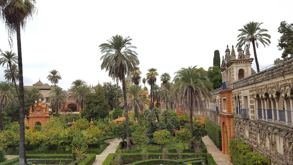 The gardens of the Alcázar