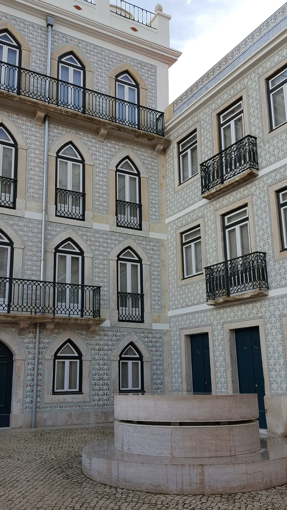 Azulejos in the Alfama
