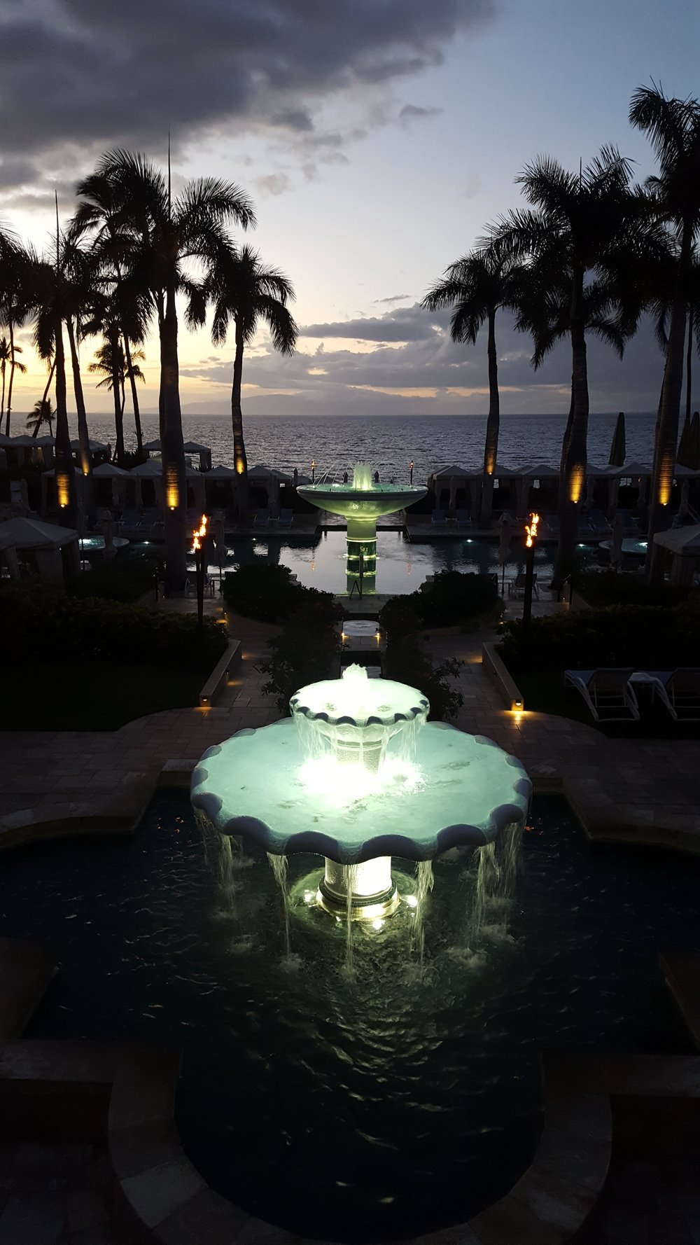 Four Seasons Wailea by night