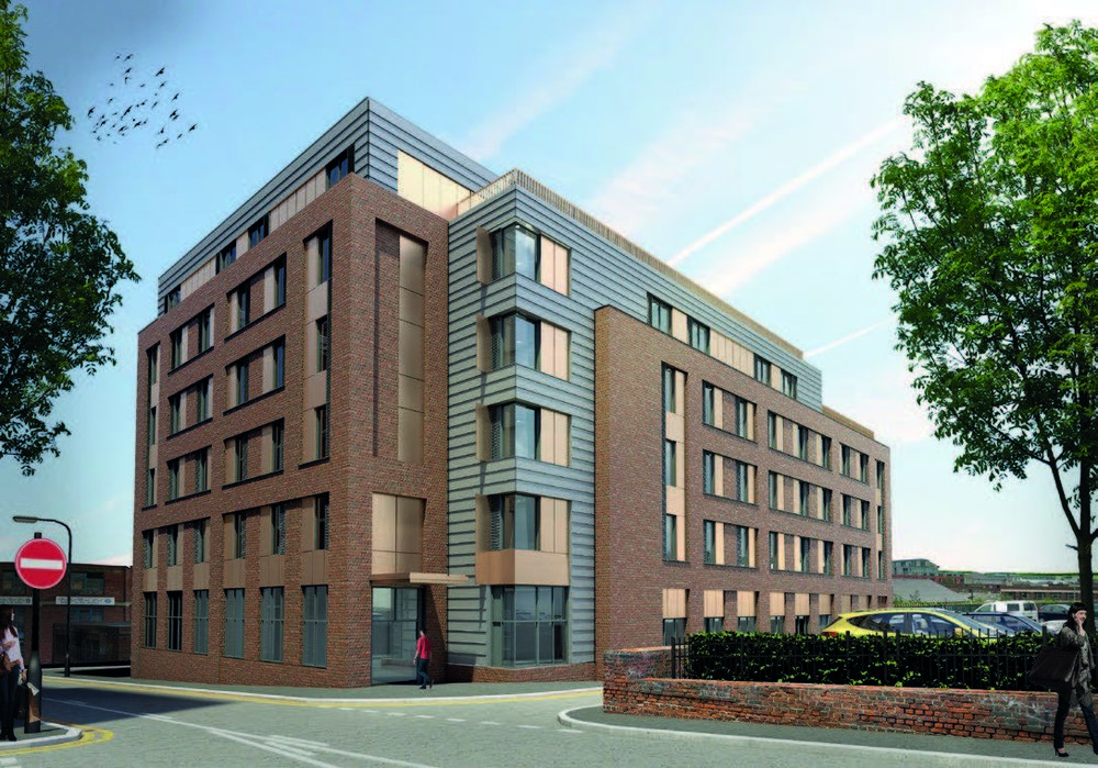 CGI Image of Hannah Court, Sheffield