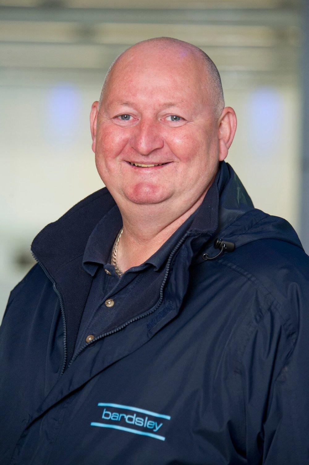 Martin Nicholson Yard Coordinator