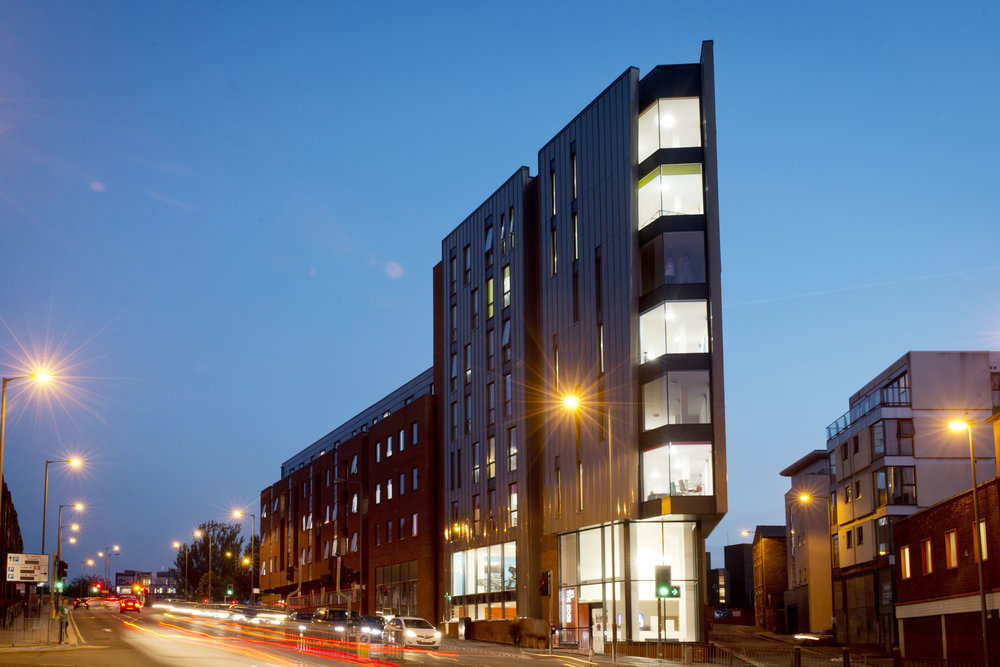 Student Accommodation : The Edge, Liverpool