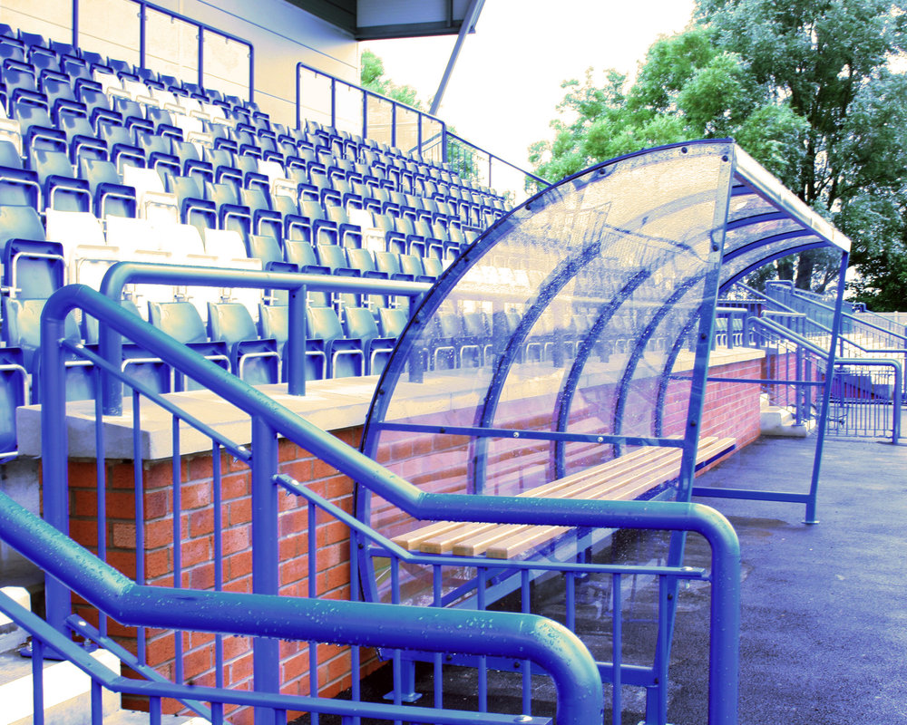 Curzon Football Stadium, Ashton-Under-Lyne