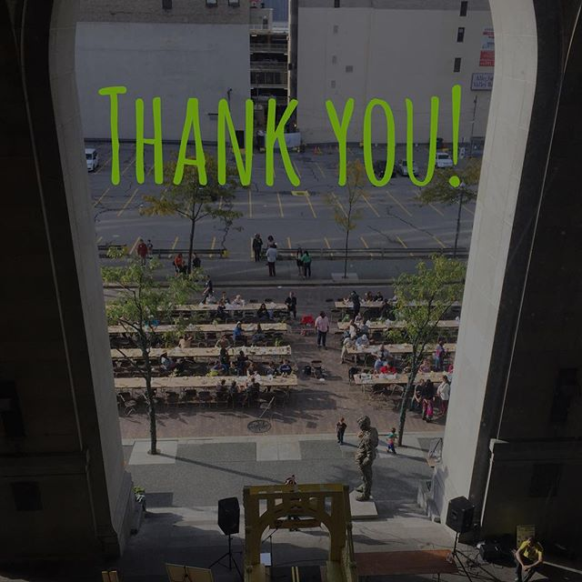 To our speakers, performance artists, volunteers and everyone who broke bread with us yesterday at #pghfoodday. #gratitude #community #food