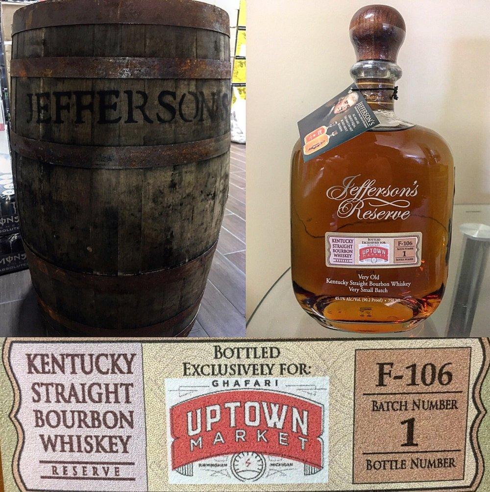 Jefferson's Reserve -