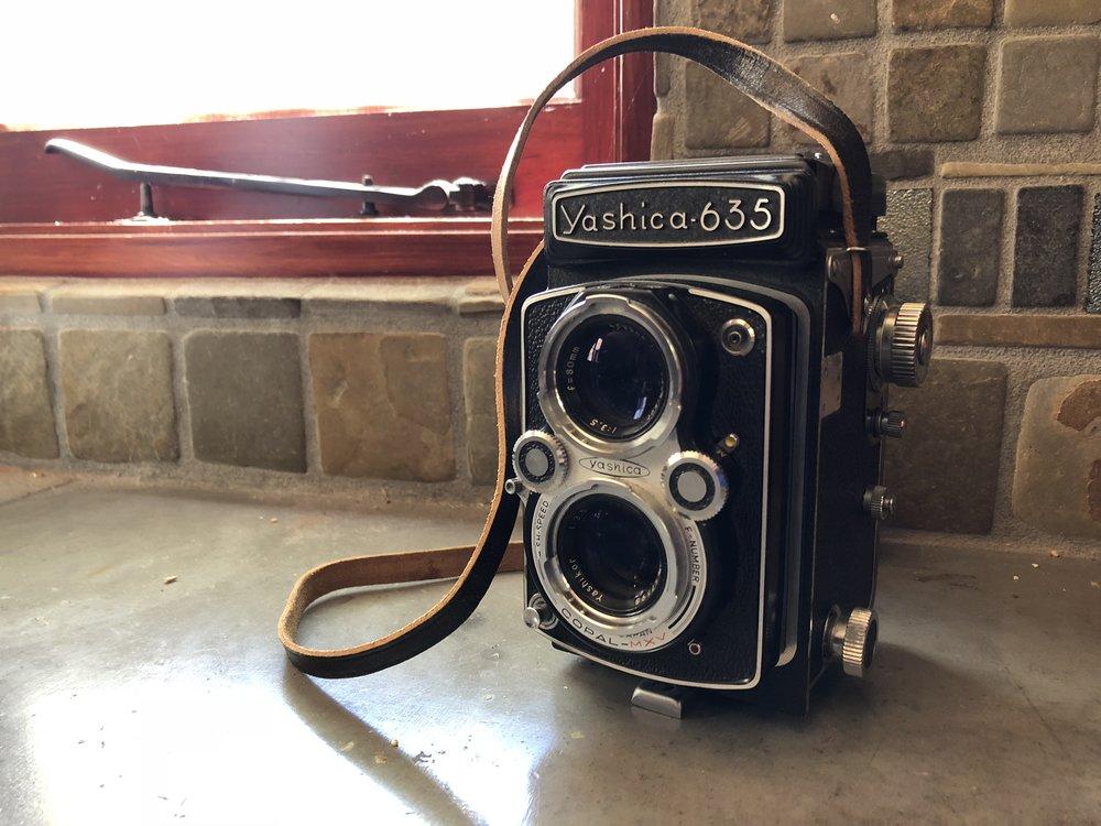 Shazam's first camera