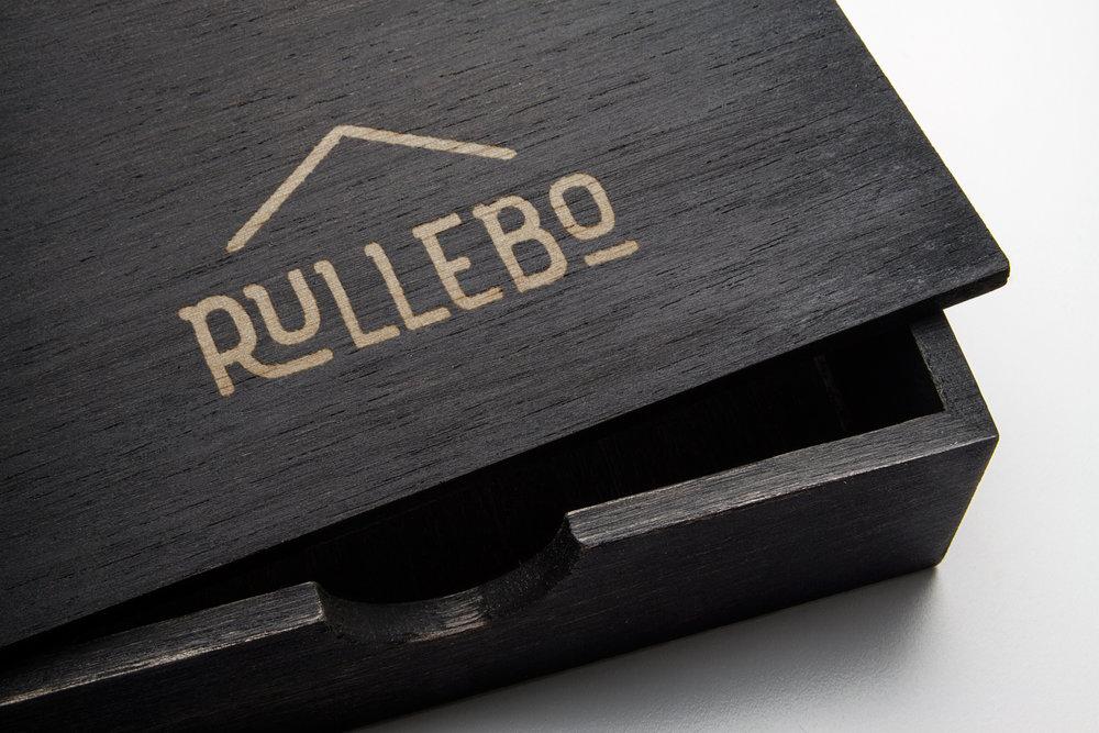 Rullebo logo mockup
