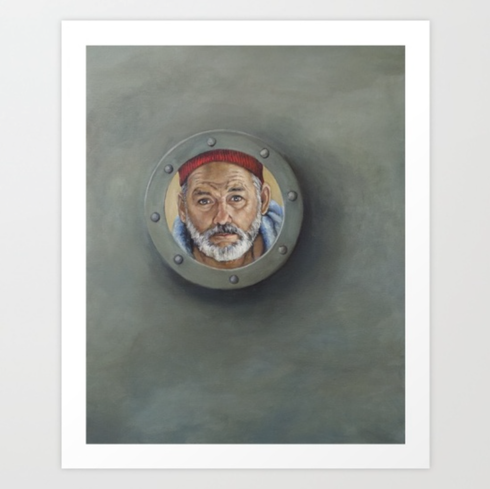 The Life Aquatic poster by  Heather Buchanan  on Society6