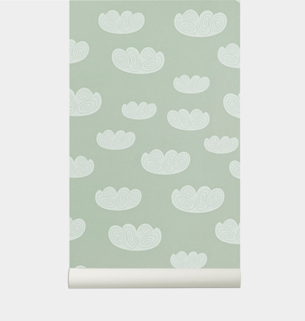 Ferm Living  Clouds wallpaper