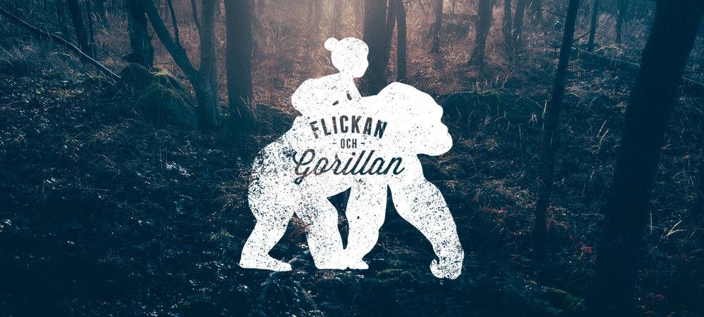 Flickan & Gorillan logo