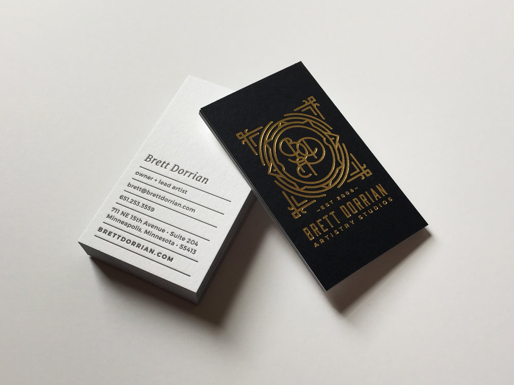 Brett Dorrian Business Cards