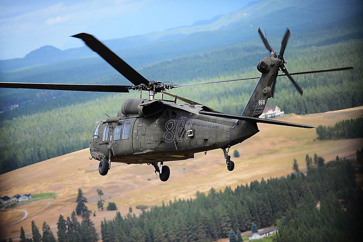I'm flying in a Blackhawk photographing this Blackhawk. Life is so awesome.