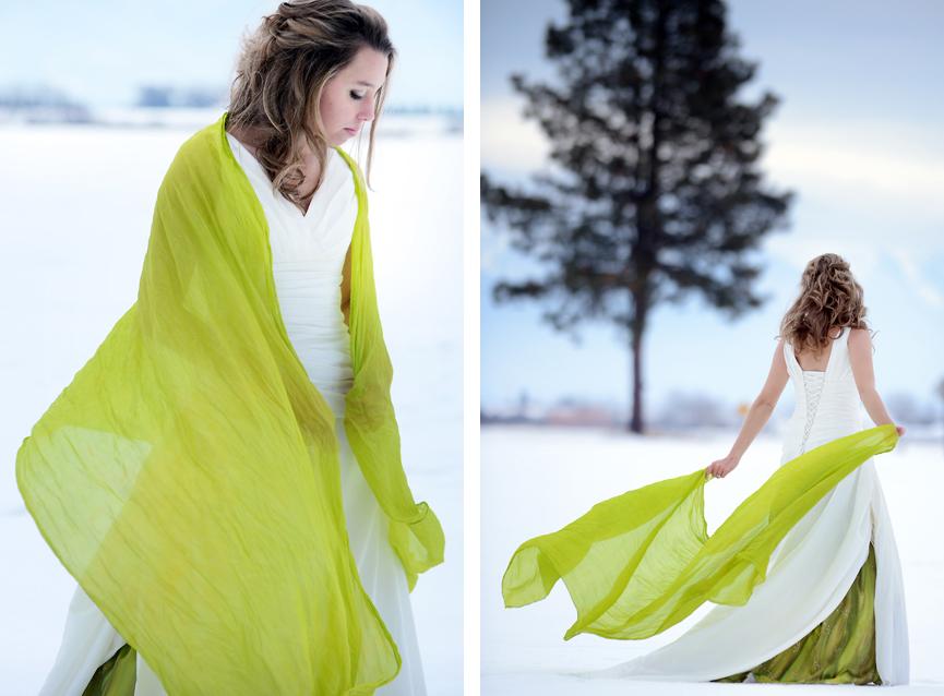 Chartreuse Bride