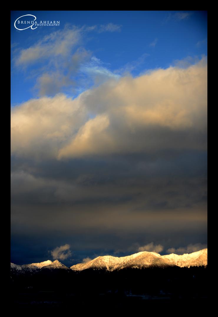 Swan Mountain Sunset