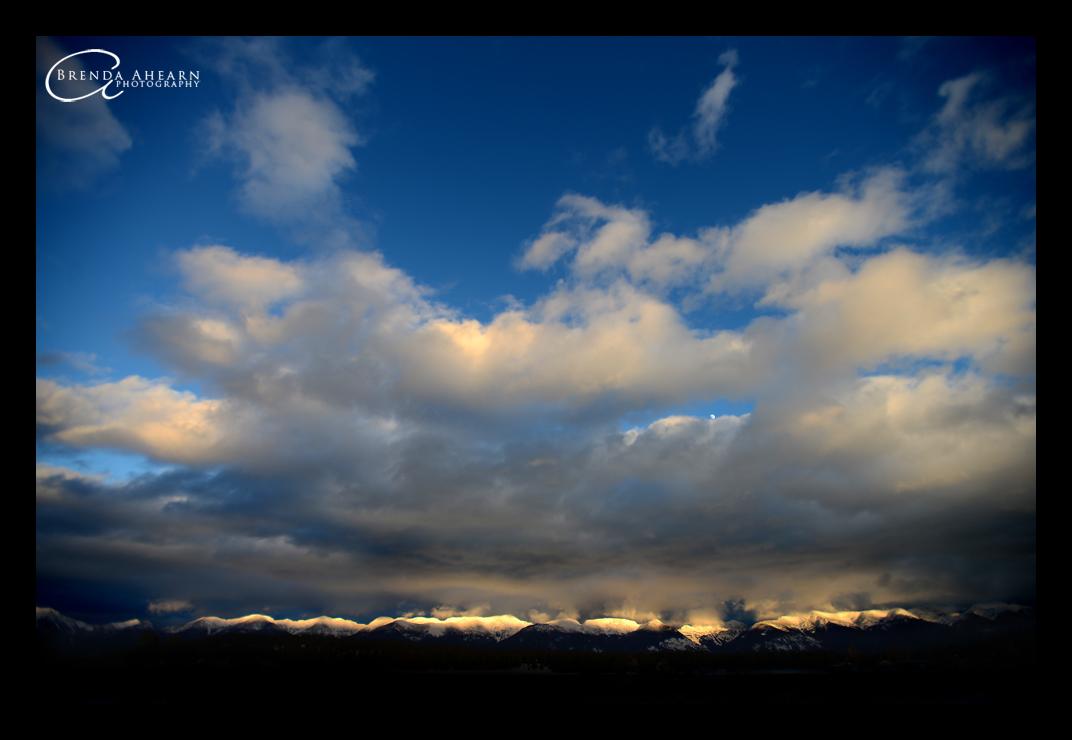 Flathead Valley Sunset