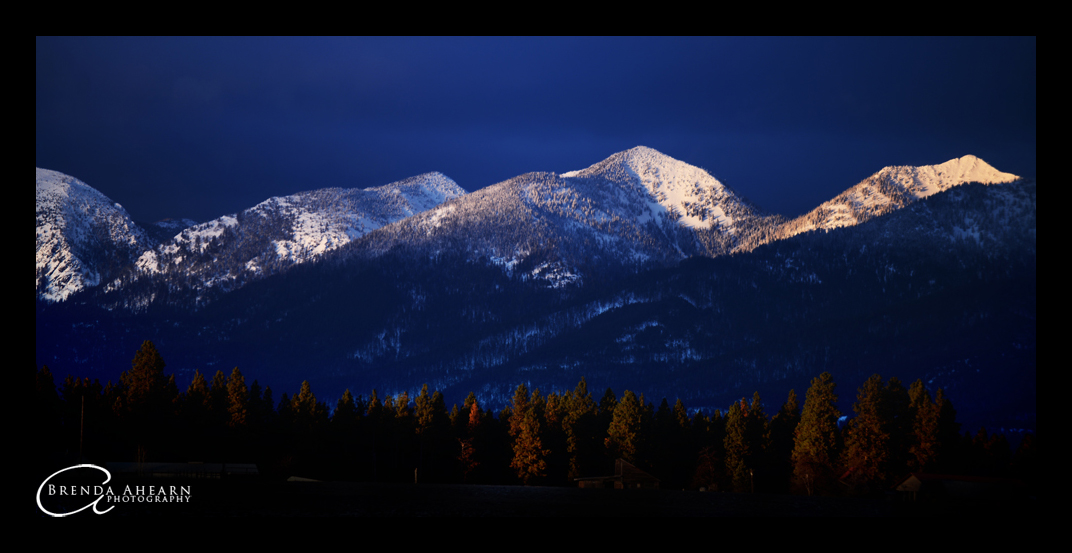 Alpenglow on the Swan Mountains