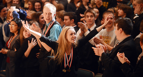 Class AA State Speech and Debate Award Ceremony