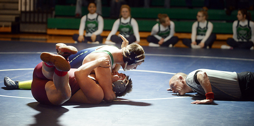 Wrestling: Glacier vs Helena High