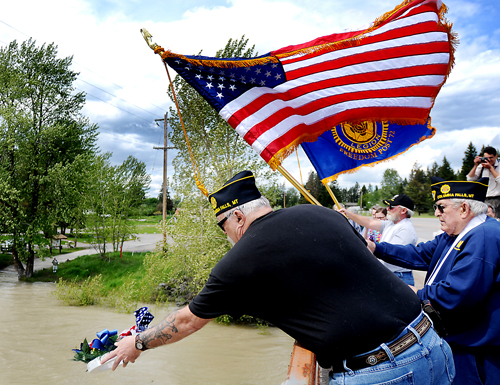 Memorial Day Ceremony in Columbia Falls