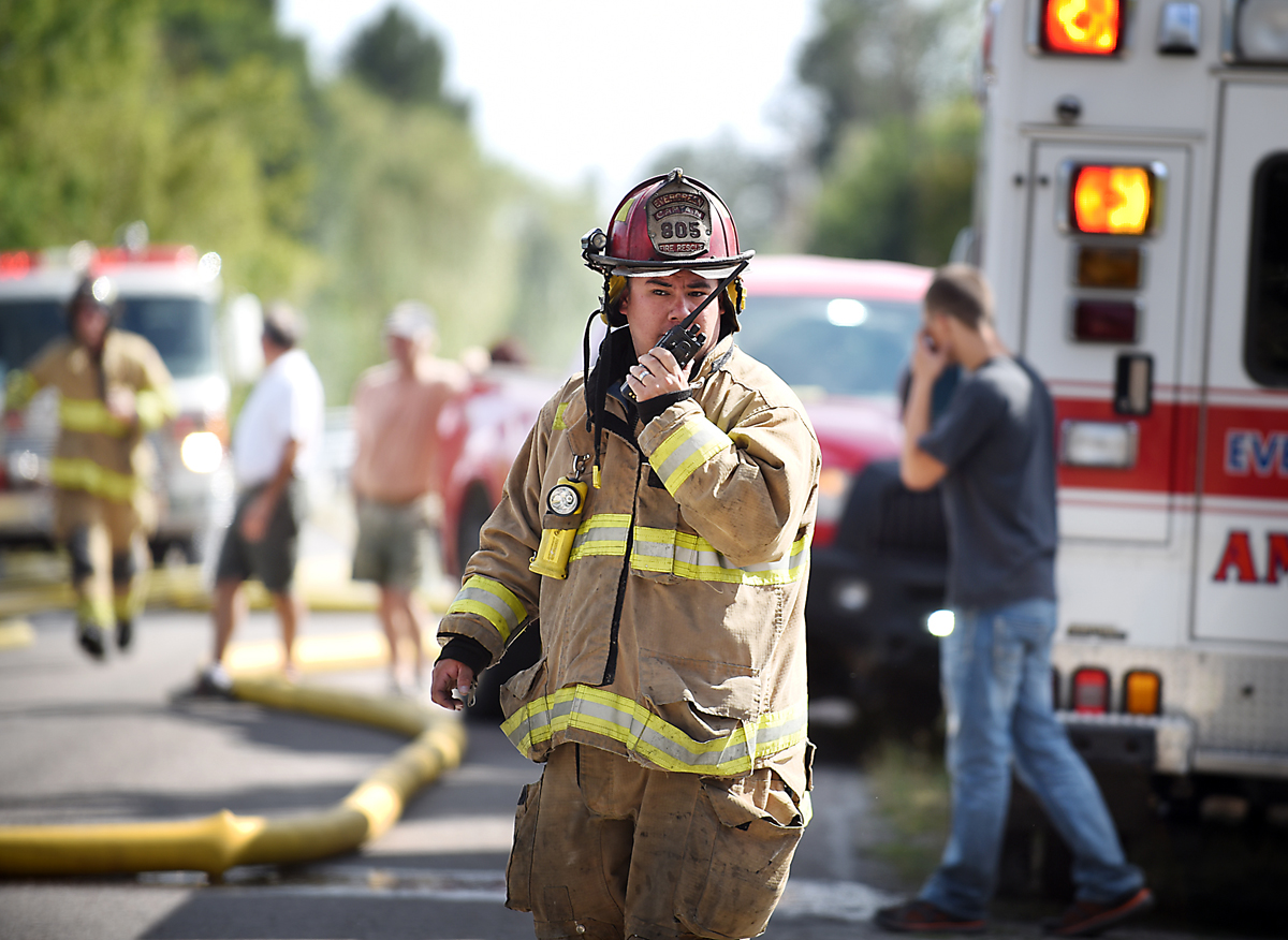 James Boyce of Evergreen Fire and Rescue. (Brenda Ahearn/Daily Inter Lake)