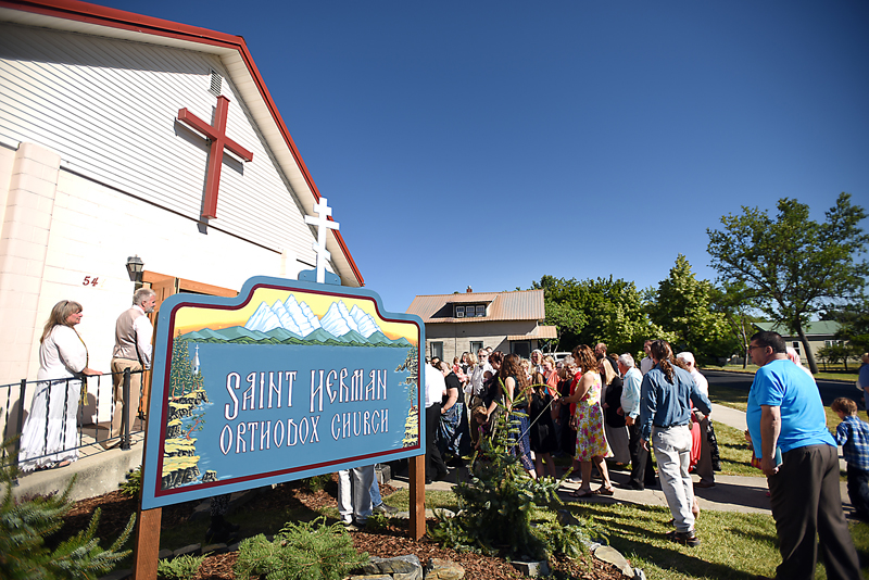 Images from the blessing of the temple and the ordination of the Rev. Daniel Kirk at Saint Herman Orthodox Church in Kalispell on Sunday, July 19. For more information on the church visit: www.sainthermanoc.org (Brenda Ahearn/Daily Inter Lake)