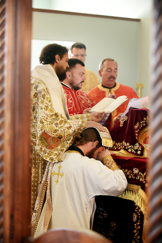 In the ordination of the Rev. Daniel Kirk the bishop ordains by the 'laying on of hands' a practice from the New Testament. In this a priest is set apart for the celebration of the mysteries of the church. Only an ordained priest can consecrate the elements used in communion. (Brenda Ahearn/Daily Inter Lake)