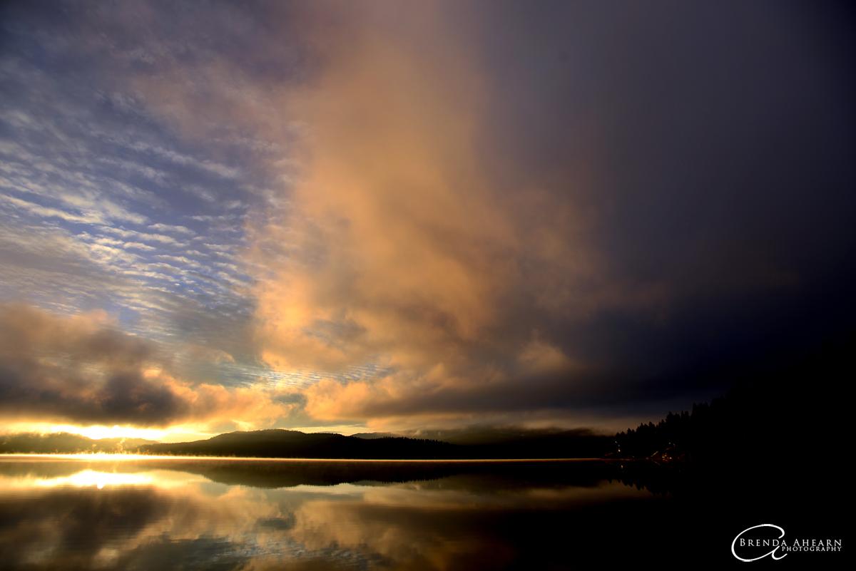 Dickey Lake north of Whitefish, Montana.