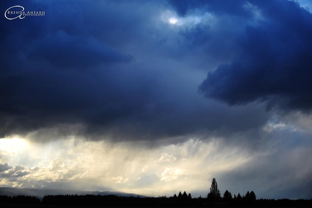 Storm over Creston, Montana.