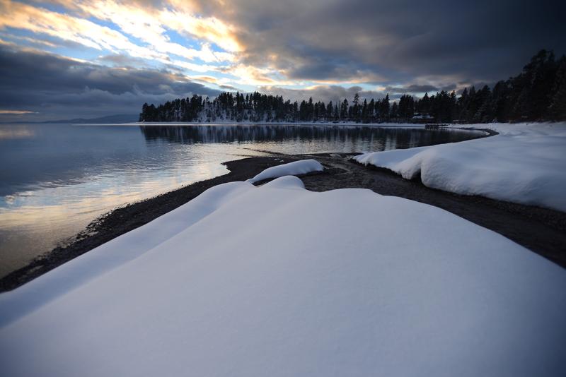 Yellow Bay at Flathead Lake