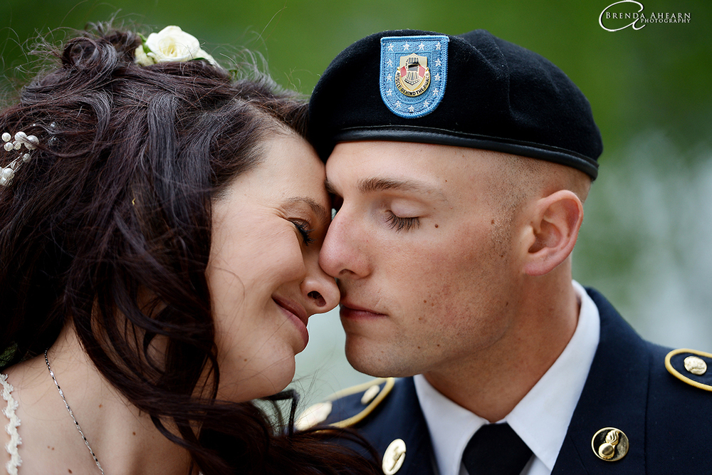 Armed Forces Day wedding