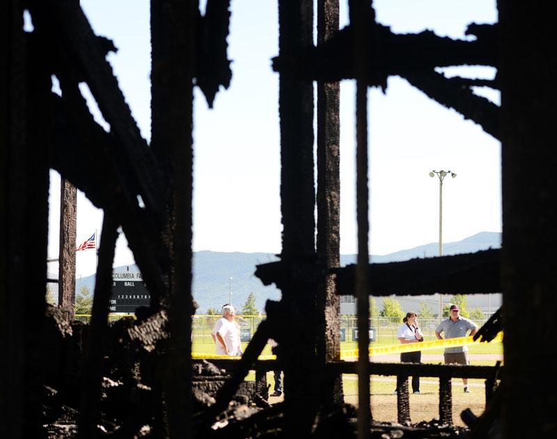 photojournalism frame shot fire montana