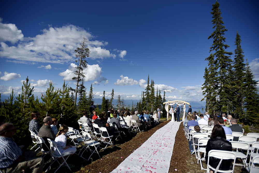 northwest Montana destination wedding