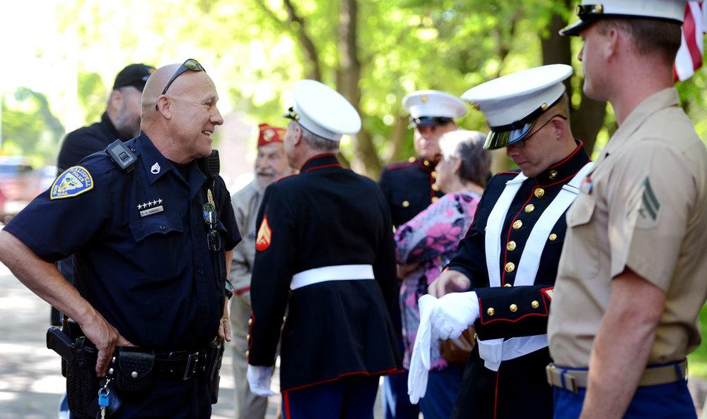 KPD Kalispell police Marines