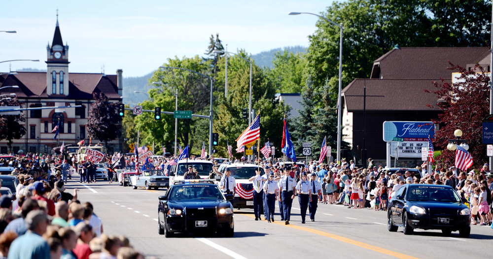 northwest montana kalispell parade fourth of july
