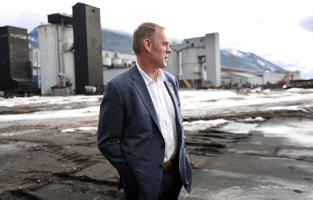 This image of U.S. Rep. Ryan Zinke, R-Mont., as he toured the Columbia Falls Aluminum Company plant on Tuesday afternoon, February 16, became even more significant for me later in the year when Zinke was named as President Trump's nominee for Interior Secretary. This image was picked up by Outside Magazine and another of my portraits of Ryan was used by Fox News. I know a lot of people are nervous about the direction Donald Trump will take this country, but for Interior Secretary he couldn't have done better than a native Montana. Living here, a person can't help but fall in love with the wonders around us and want to protect them.