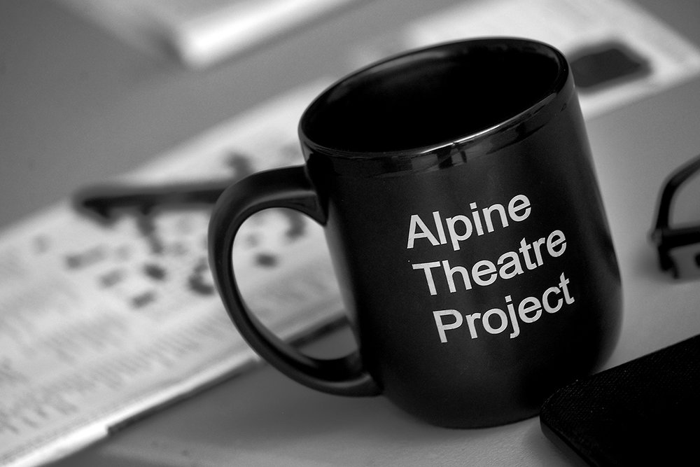 For the summer concert series ATP produces three plays to be performed in rotation. The schedule is intense and requires actors to learn all three plays in a matter of weeks. Coffee is an essential ingredient.