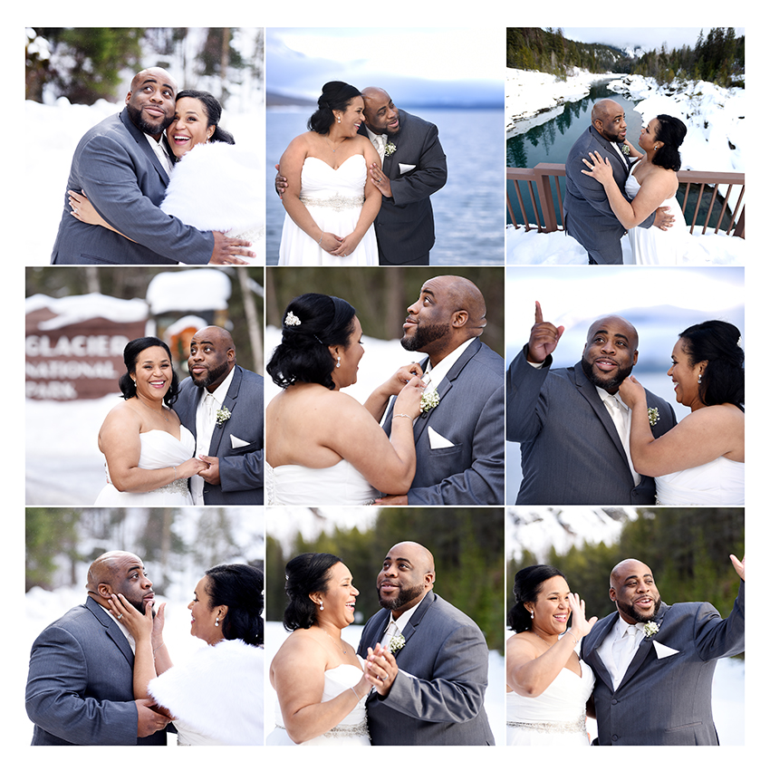 The weather didn't give us much color, but we had a few photos in gorgeous light and the scenery made their day even more unforgettable for this lovely couple.