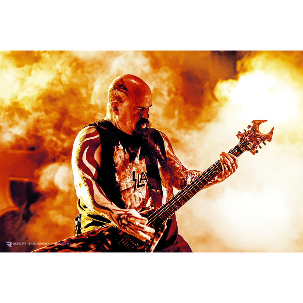 REBELPIX - Sami Turunen Photography / Slayer @ Hartwall Arena, Helsinki