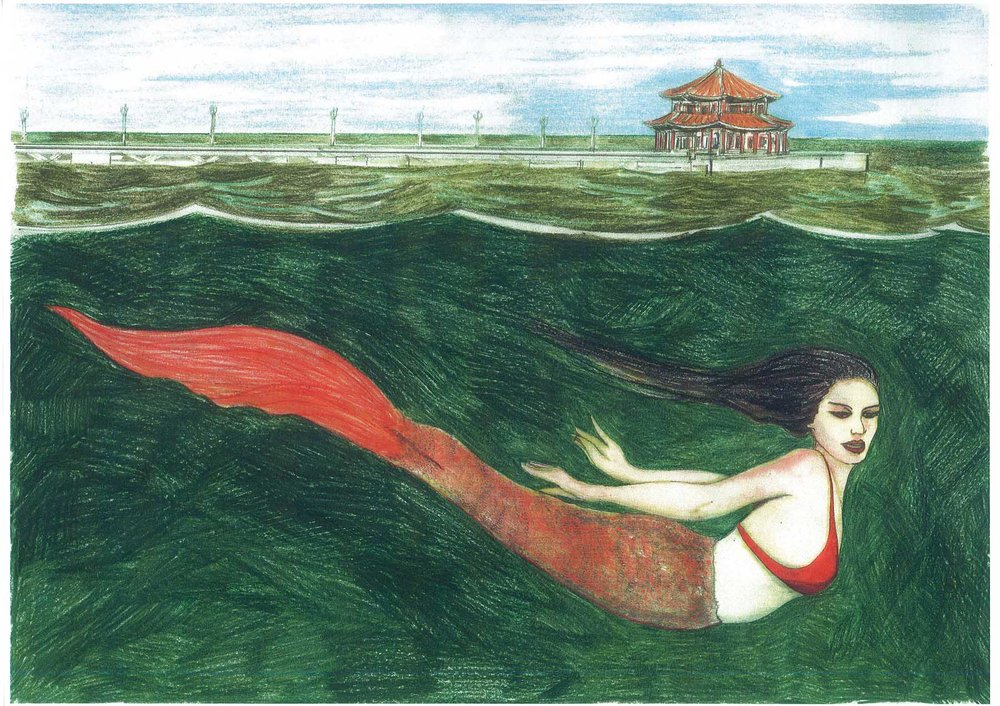 Qingdao China Mermaid.jpg