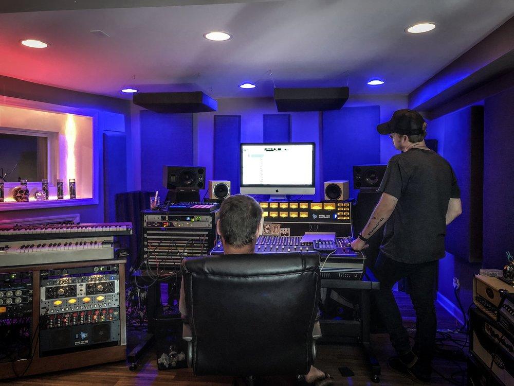 Lincoln Parish Waker Recording Debut Album