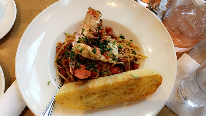 Moxies' Lobster & Shrimp Linguine