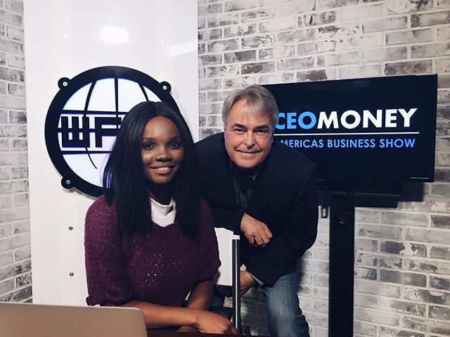 Just wrapped up an amazing interview with @yorbamichael and the #CEOmoney team!! Thank you guys so much for having me! It was such a good experience talking all things marketing, Community and Fashion!