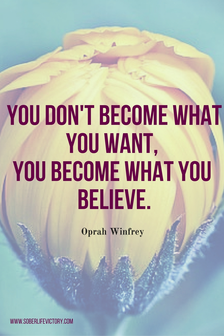 Believe in your yourself