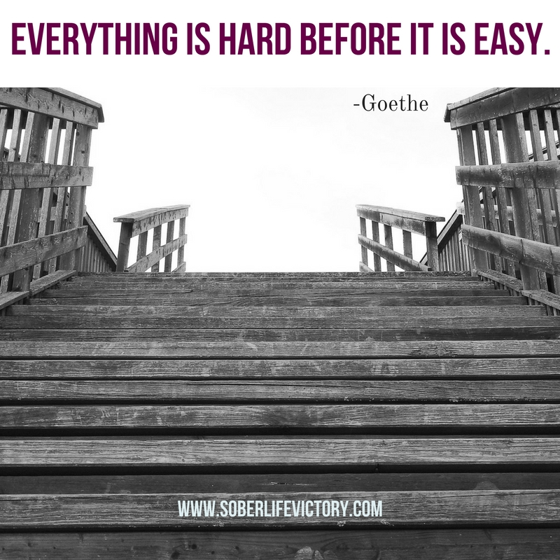 Everything is hard before it is easy quote