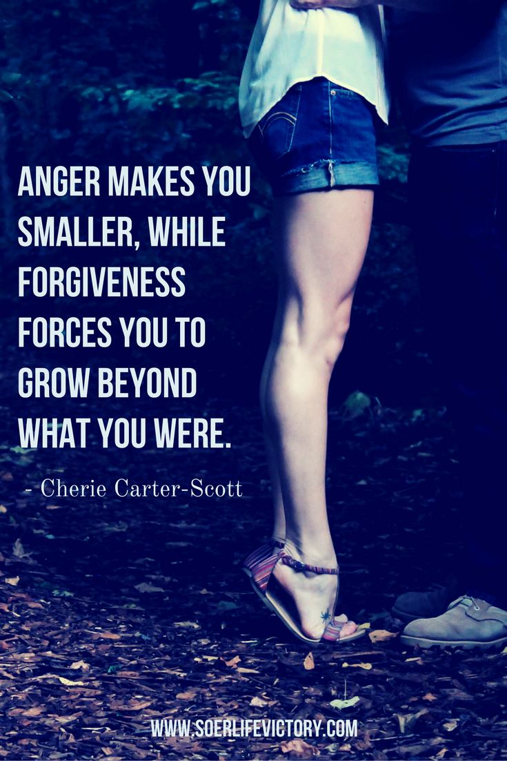 Anger and forgiveness quote
