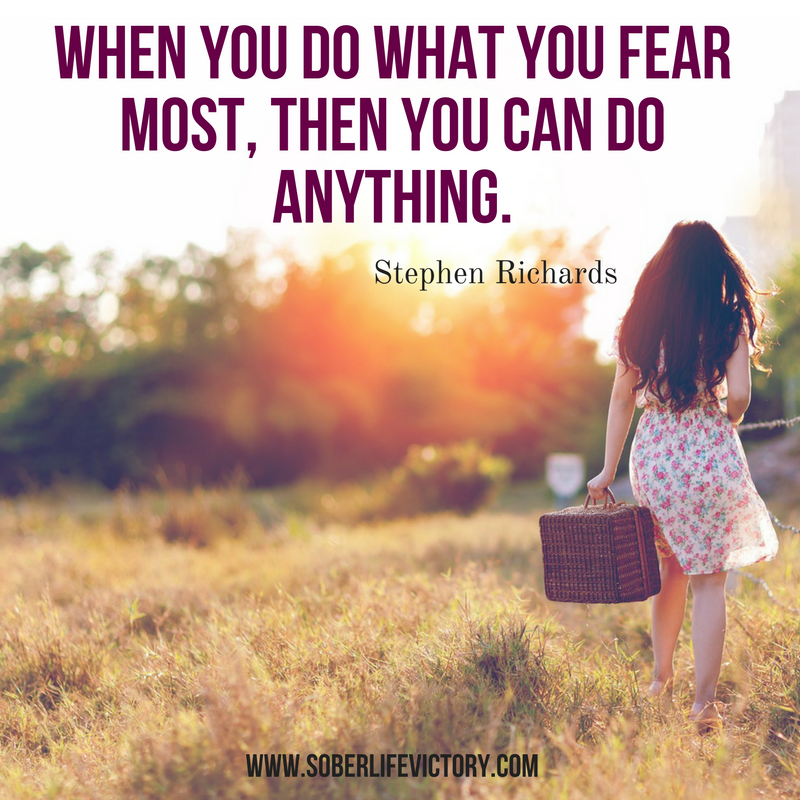conquering your fear quote