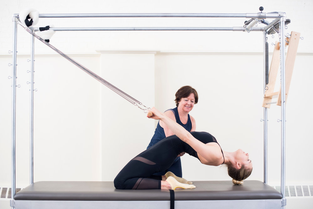 Pilates Cadillac at True Pilates Boston