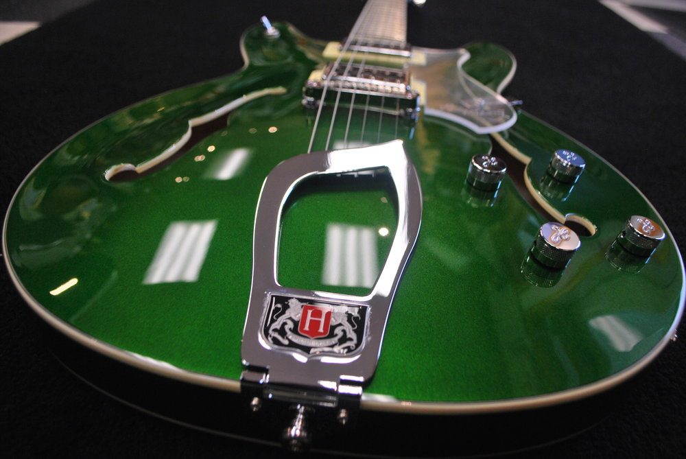 This Hagstrom Viking Custom is one of only 47 guitars made for North America.