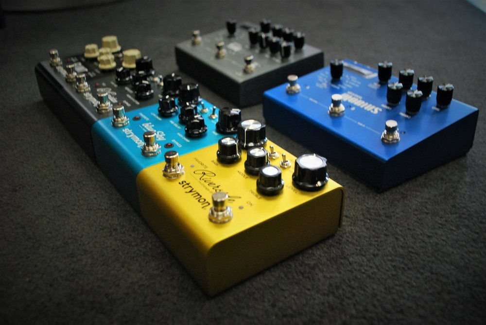 Strymon's top-of-the-line pedals have made their way into Crescendo!