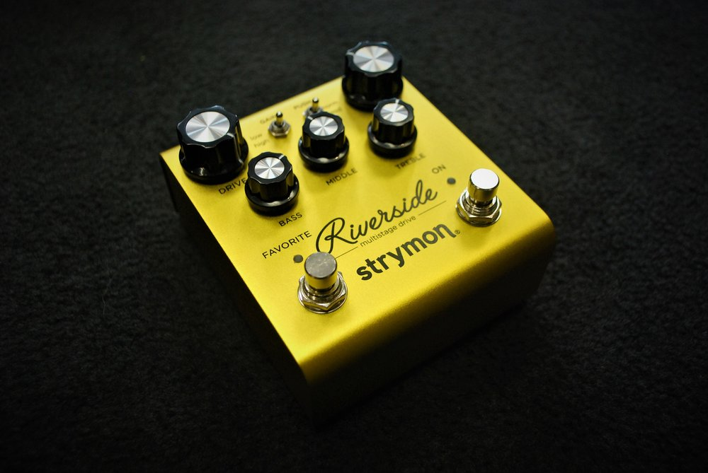 The Riverside is a multistage drive that can create sparkly crunch to blistering lead tones. It's packed with tons of features including a favorite setting, and built-in noise gate.